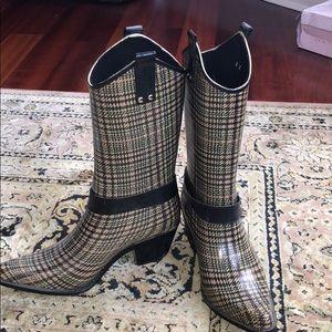 Shoes - Cowboy all Rubber Rainboots